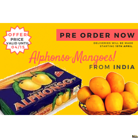 Alphonso Mangoes 1 Large Box