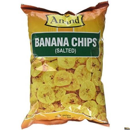 Anand Banana Chips Salted - 14 oz