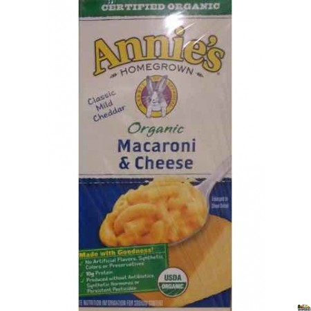 Annies Homegrown Macaroni & Cheese - 6 oz