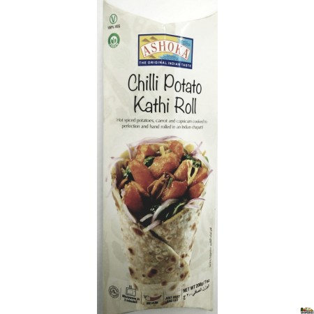 Ashoka Chilli Potato Kathi Roll (Frozen) - 200g