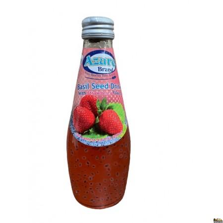 Azure Basil seed Drink Strawberry - 290 ml