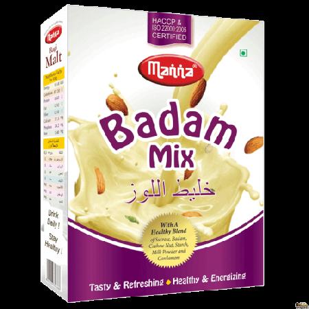 Manna Badam Drink Mix (Almond Mix) 200 Grams