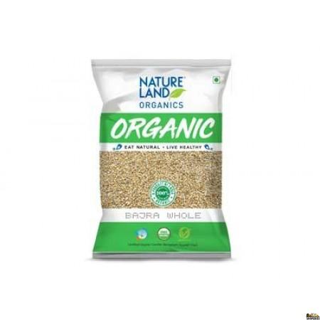 Nature Land ORGANIC Bajra Whole (Pearl Millet) 2 lb