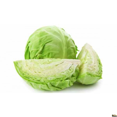 Green Cabbage - 1 Count