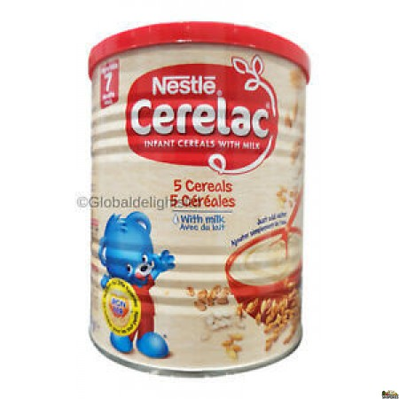 Cerelac 5 Cereal With Milk - 400g