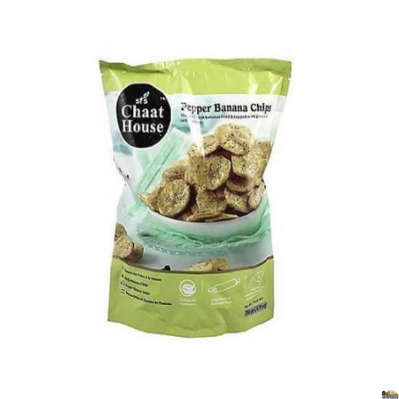 Chaat House Pepper Banana Chips - 200 Gm