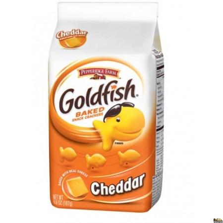 Pepperidge Farm Gold fish Baked Snack Crackers (Cheddar) - 6.6 oz