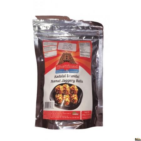 Chettinad Kadalai Urundai Peanut Jaggery Balls - 200 Gm