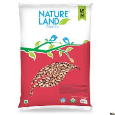 Nature Land ORGANIC Rajma Chitra - 5 lb