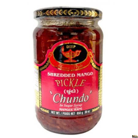 Deep Chundo Shredded Mango Pickle - 12.3 Oz