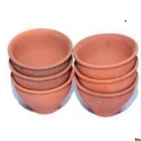 Clay Cup - 6 Pcs Set