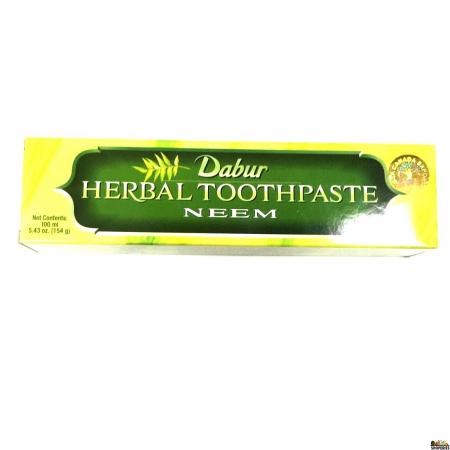 Dabur Neem Herbal Toothpaste - 3.5 OZ (100ML)