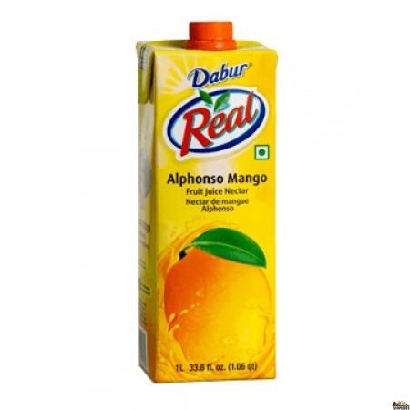 Dabur Real Alphonso Mango Juice - 1 Ltr