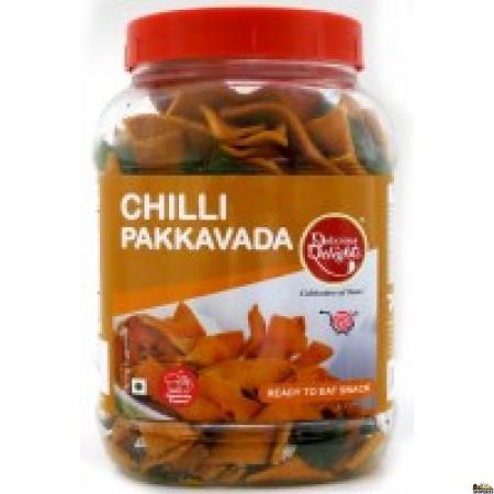 Delicious Delight Chilli Pakkavada - 200 Gm