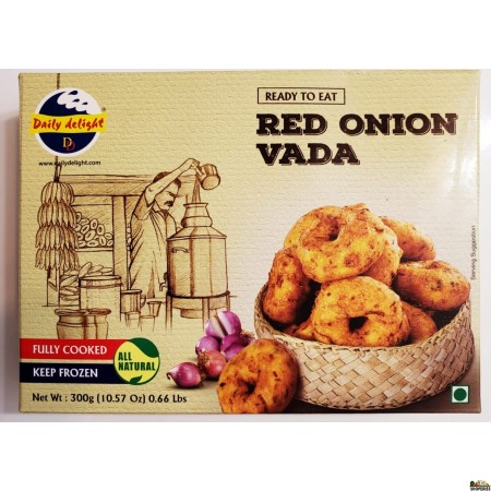 Daily Delight Red Onion Vada - 300gms
