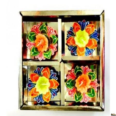 DECO ITC DIYA Box no wax - (4 Pc)