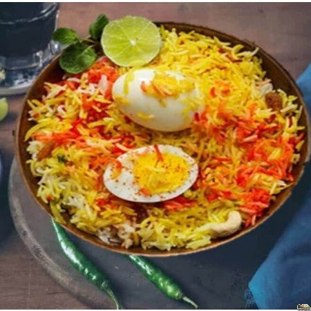 Chutneys Egg Biryani