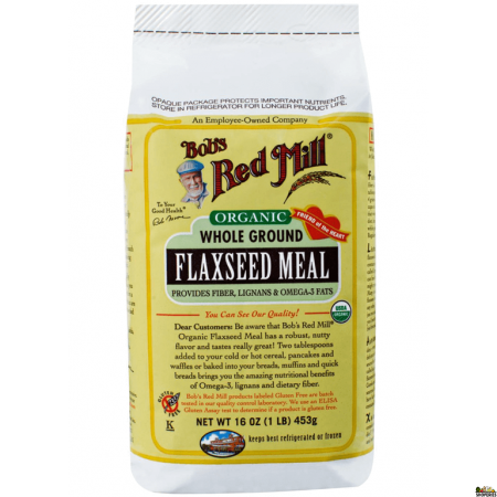 Bobs Red mill Organic Ground Flax Seed Meal - 16 oz