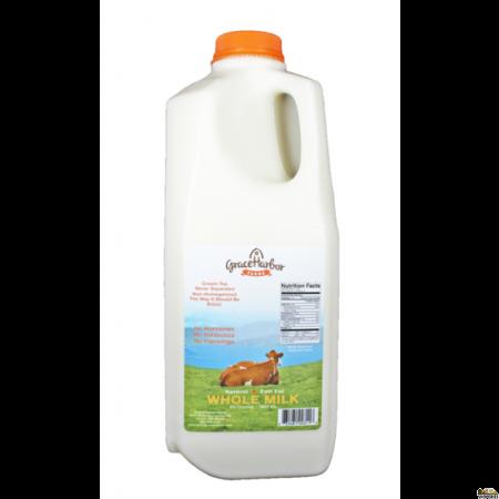Grace Harbor Farms Whole Milk - 64 Oz