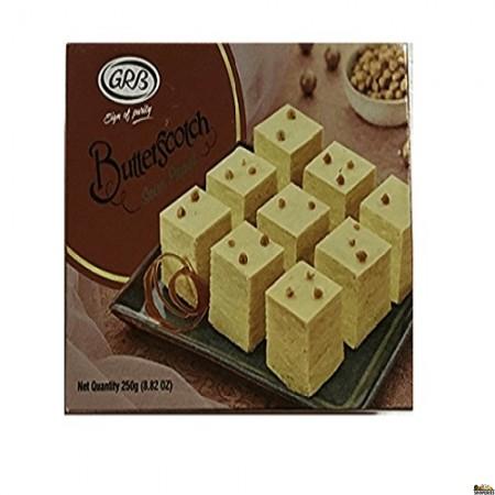 Grb Ghee Soan Papdi - Butterscotch - 250 Gm