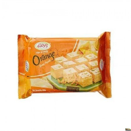 Grb Soan Papdi - Orange - 250 Gm