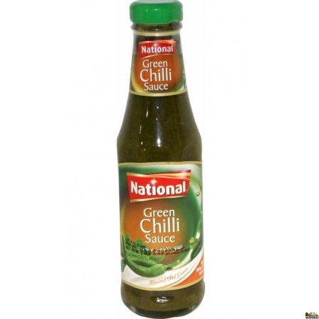 National Green Chilli Sauce 300Gms