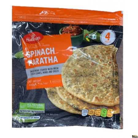 Haldirams Healthy Spinach Paratha (Frozen) - 400 gms