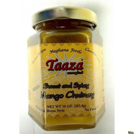 Taaza Mango Sweet and Spicy Chutney - 10 oz