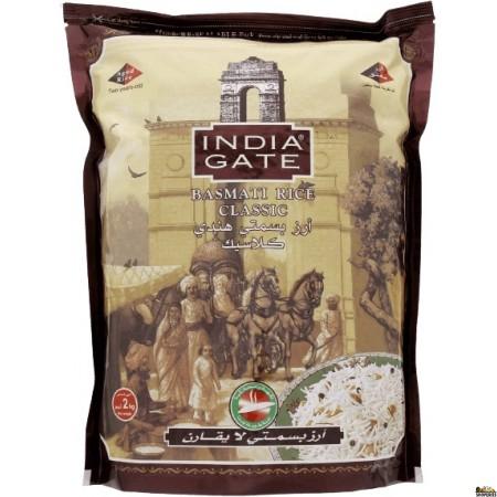 India Gate Classic Basmati Rice - 4 Lb (Small Bag)