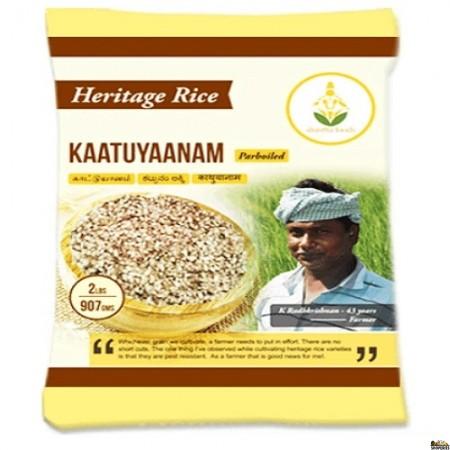 Shastha Heritage Kaatuyaanam Rice - 2 Lbs