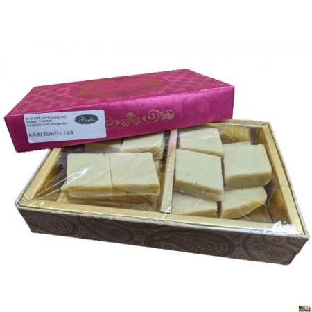 Prabhu Sweets Kaju Katli Barfi - 1 lb