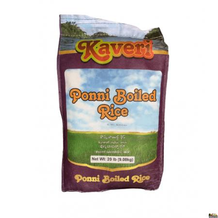 Kaveri Ponni Boiled Rice - 20 Lb