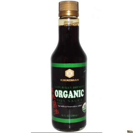 Kikomon Organic Dark Soy Sauce 10 Fl Oz
