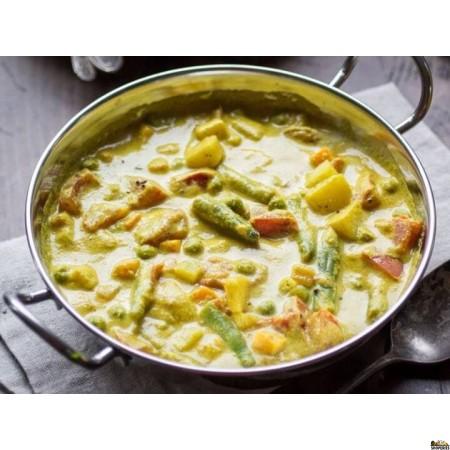 {{vegan}} Adyar Kitchen Organic Vegetable Korma Sauce - 16 Oz