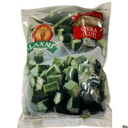 Laxmi Cut Okra (Frozen) - 300 gm
