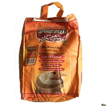 Deccan low-gi Sona Masoori Rice - 20 lb
