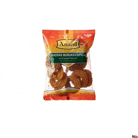Anand Madras Murukku Spicy - 7 oz