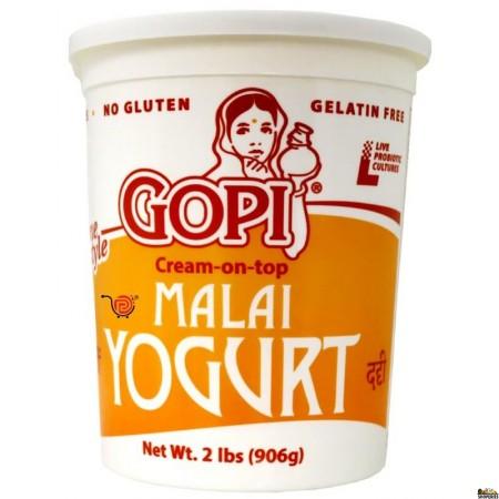 Gopi Malai Cream on Top Whole Milk Yogurt  -2 lb