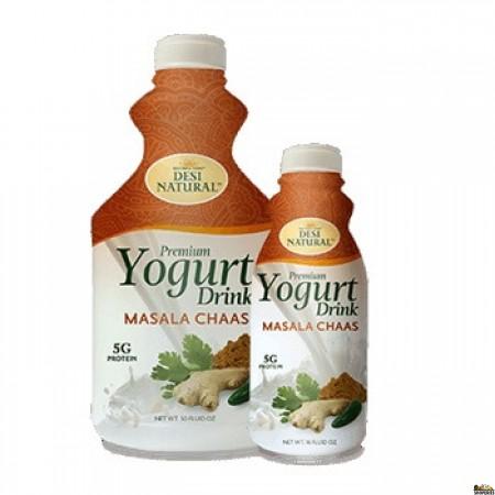 Desi Dahi Natural Masala Chaas Yogurt Drink - 50 Fl Oz