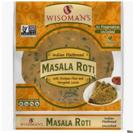 Wissoman Masala Phulka Roti Non GMO - 12 Count