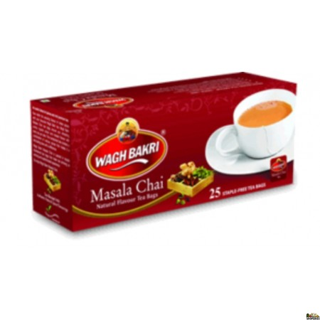 WaghBakri Masala Tea Bags - 260 g