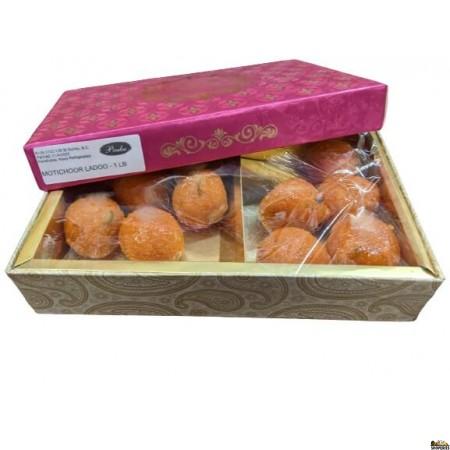 Prabhu Sweets Motichoor Laddu - 1 Lb