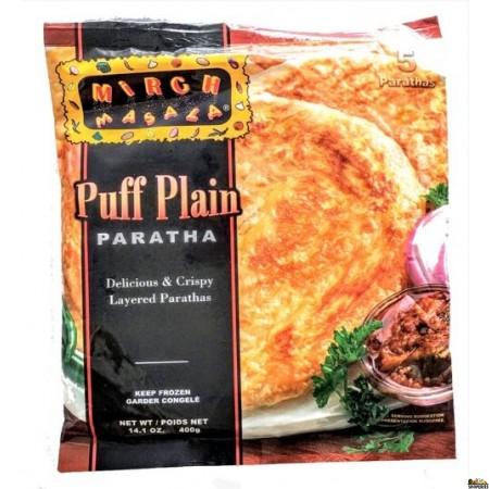 Mirch Masala Puffed Plain Paratha (Frozen) - 400 gms