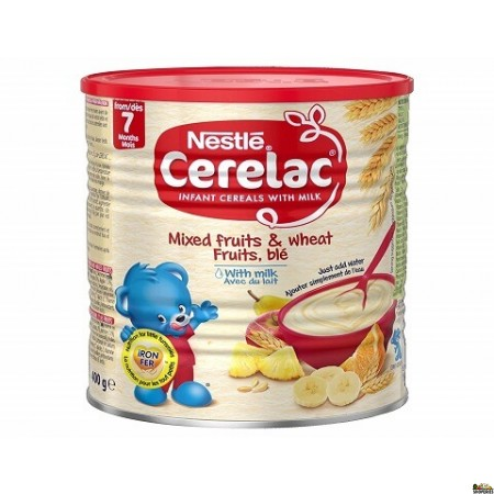 Cerelac 5 Cereal With Mixed Fruits and  Milk - 400g