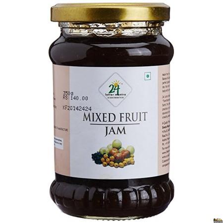 24Mantra Mixed Fruit Jam 350 GM