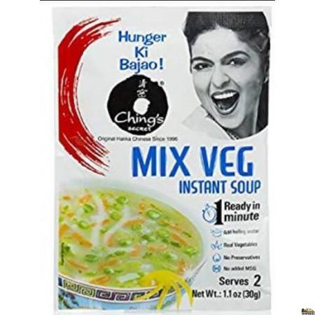 Chings Secret, Mix Veg Soup Mix - 55 gms