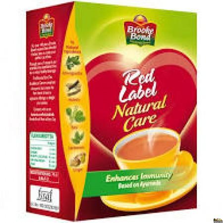 Brooke Bond Red Label Natural Care Tea - 500 Gm