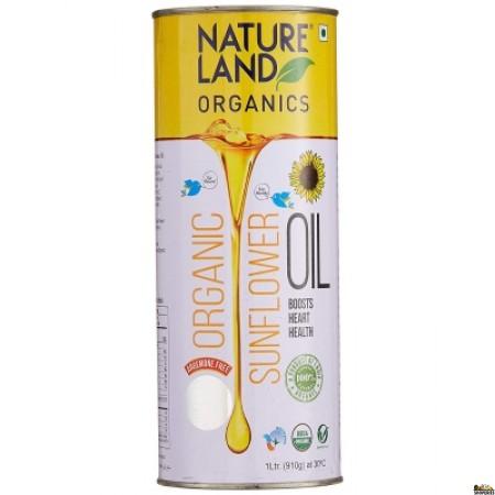 Nature land Organic Sunflower Oil 1 Ltr