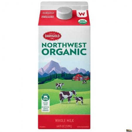 Darigold Northwest Organic Whole Milk - 1/2 Gal