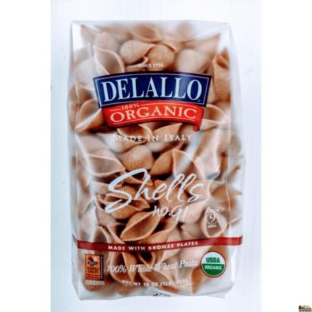 Delallo Organic Shell Pasta - 16 Oz